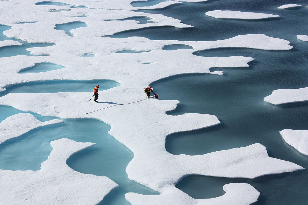 Ponds on the Ocean ICESCAPE